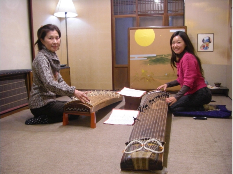 【Kyoto · Traditional Culture Experience】 Kyoto private lesson ☆ Let's play the elegant sound of Japanese! Introduction image of