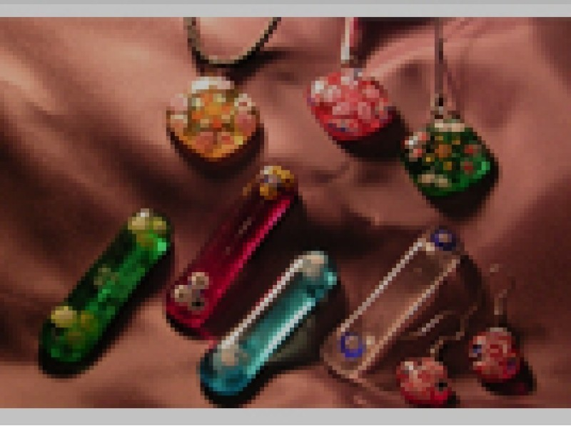 [Hokkaido, fusing experience] your favorite glass a combination of creating a small fusing experience of introduction image