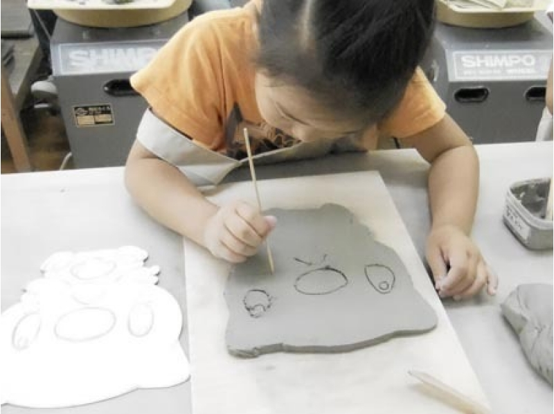 [Tokyo, pottery experience] a small potter gather! Introduction image of child hand beauty batter Pottery Experience