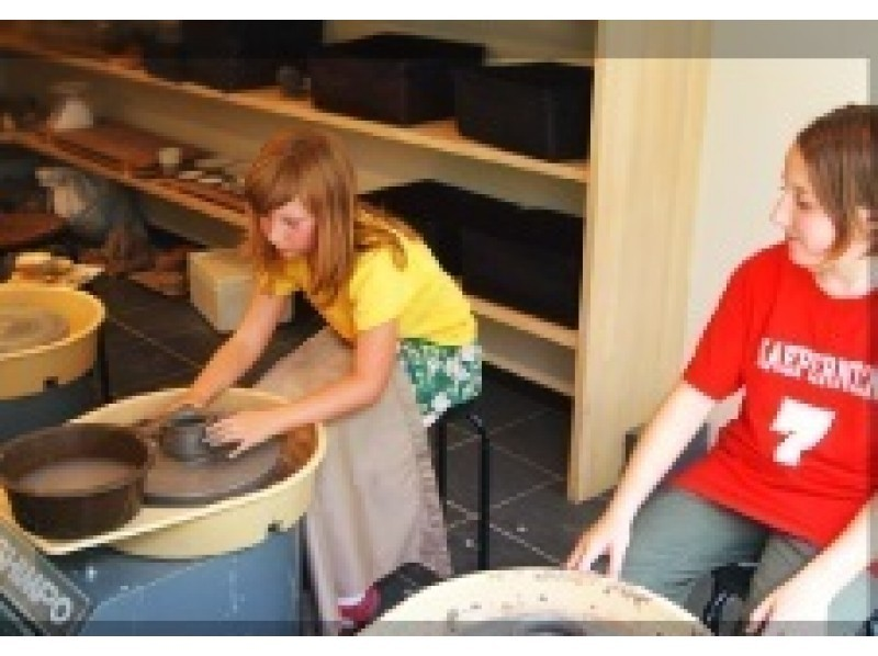[Kyoto Prefecture, potter's wheel pottery experience] of the bowl making of Kyo one-of-a-kind that memories is jammed Kyoto travel introduction image