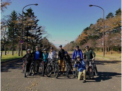 【北海道・札幌】MTBサイクリング半日ツアー 野幌(のっぽろ)の森MTB 札幌から送迎付き♪の紹介画像