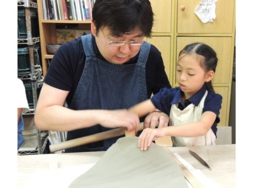 [East Kyoto hand beauty kneading pottery experience-platinum] family! On the day reservation is OK! Plans that can be made as many as you like (about an hour and a half)の紹介画像