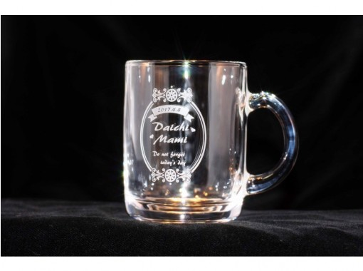 """[Kagawa Kannonji-shi]Sandblasting experience-""""Mug cup making"""" that is happy for children On the day Take-away Empty-handed! Pick-up is also possible!の紹介画像"""