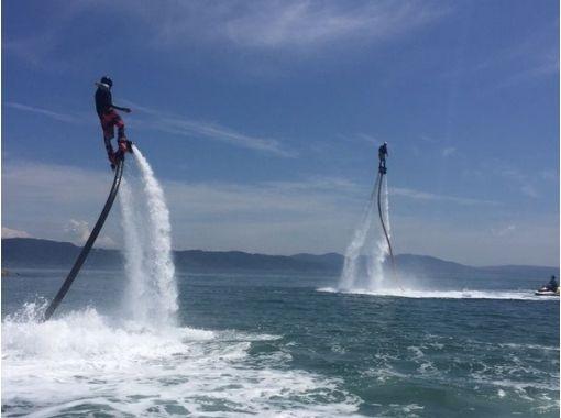 【兵庫・明石】水圧で空を飛ぼう!フライボード体験プラン【20分】