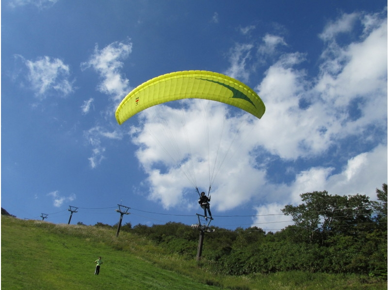 【栃木・那須高原】パラグライダー体験(1日コース)セール開催中!の紹介画像