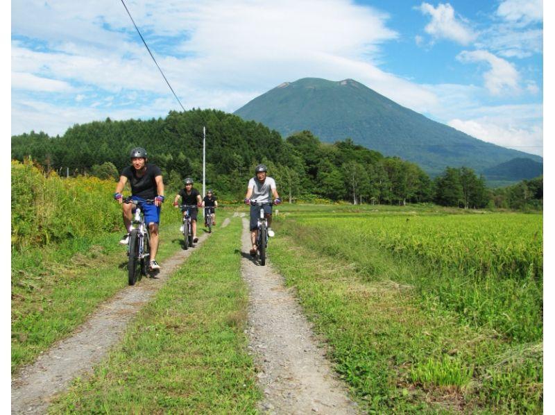 ニセコの街をガイドと一緒に爽快にサイクリング!の紹介画像