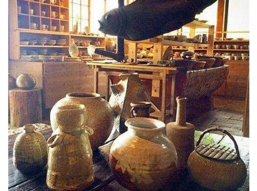 【山梨県・山梨市】手びねり陶芸体験~特産果物の木から作る自家製木灰釉使用!手ぶらでOK!