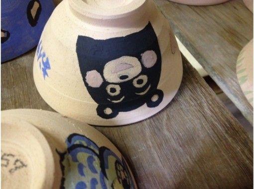 【滋賀県・信楽 絵付け体験】無地の焼き物に絵付けをしよう(約60分)