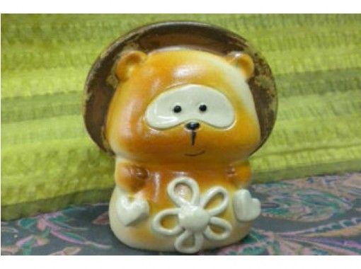 【滋賀県・信楽】型押したぬきで手軽に陶芸体験をしよう(約90分)手ぶらOK!お子様も楽しめます!