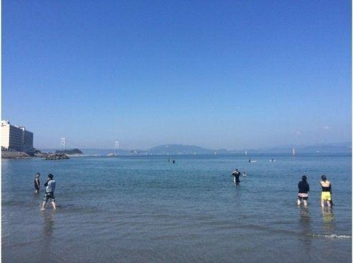 【徳島】透明な海で鳴門大橋をバックにSUP体験!