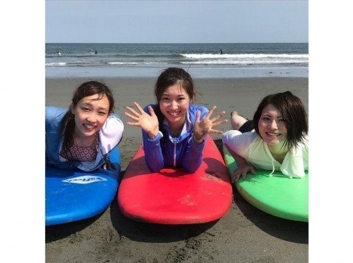 【 Tokushima · Komatsu ~ Shishido ~ Naruto】 surfing One Sun trial lesson ♪ I can get on the wave for the first time!の紹介画像