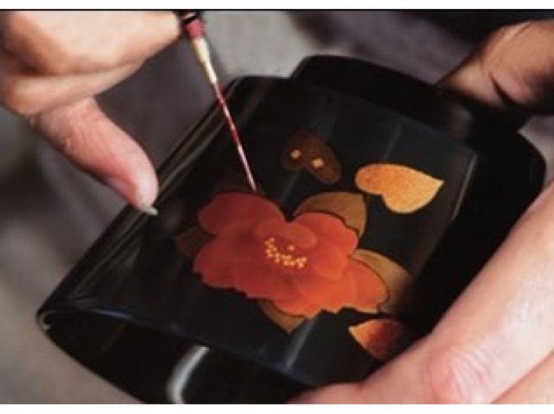 【秋田・湯沢】伝統工芸を体験!オリジナルの「蒔絵」で素敵な漆器に仕上げようの紹介画像