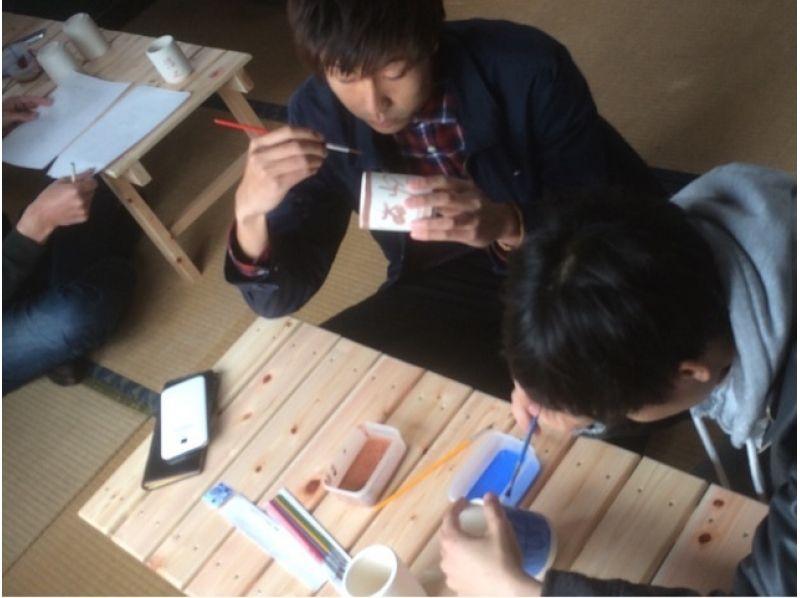 【山形県・陶芸体験】シンプルな柄からカラフルなものまで自由にデザイン!絵付け体験の紹介画像