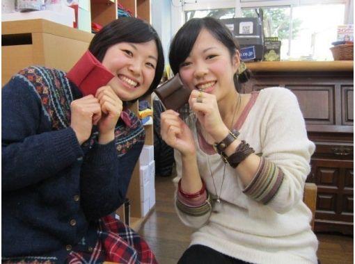 【兵庫県・ものづくり体験】牛革で作る四角いコインケース作り体験
