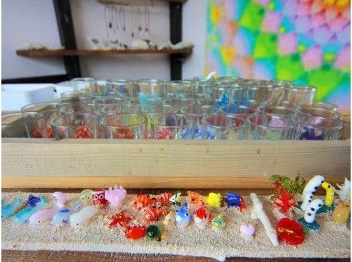 【沖縄・本部町】沖縄ならではの海をイメージした「ジェルキャンドル」を作ろう!