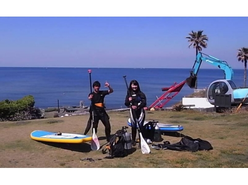 Shape up while playing fun with [Kanagawa Miura] SUP Fitness! [2 hours]の紹介画像