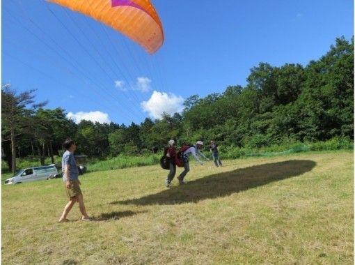 【栃木・那須高原】2人乗りでパラグライダー体験(タンデムフライトコース)コロナ対策実施中の紹介画像