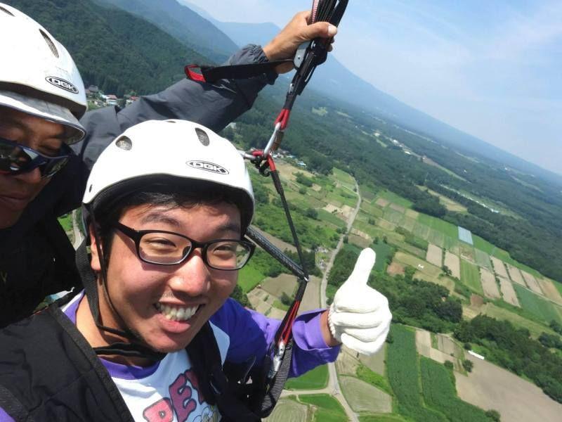 那須滑翔傘體驗