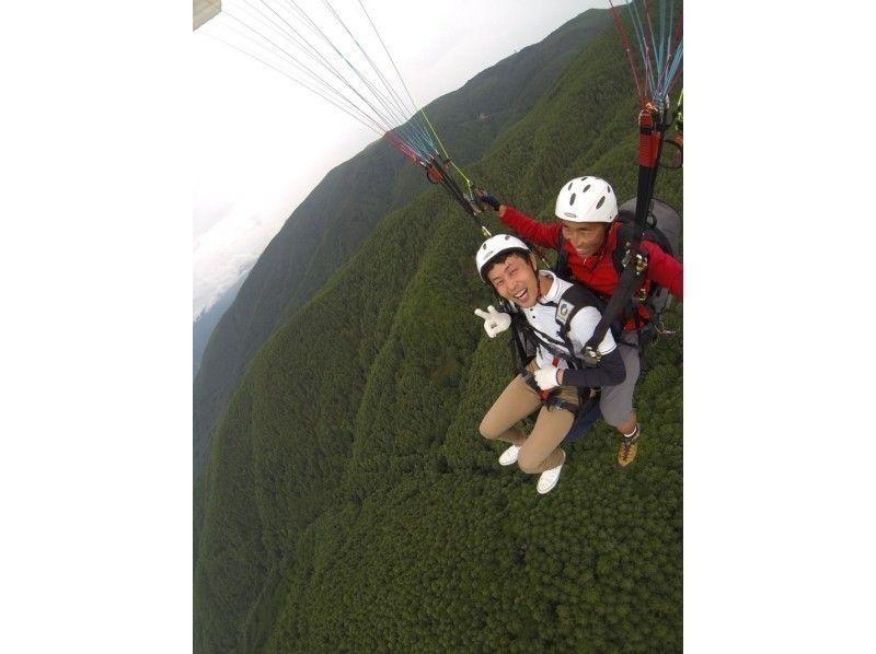 【栃木・那須高原】パラグライダー体験(タンデムフライトコース)の紹介画像