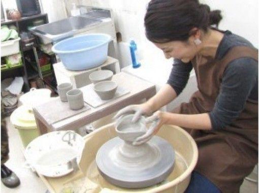 [神奈川/橫濱]全面的電動陶輪體驗,使初學者可以享受陶藝的感覺而不受生產限制當天預約OK!の紹介画像