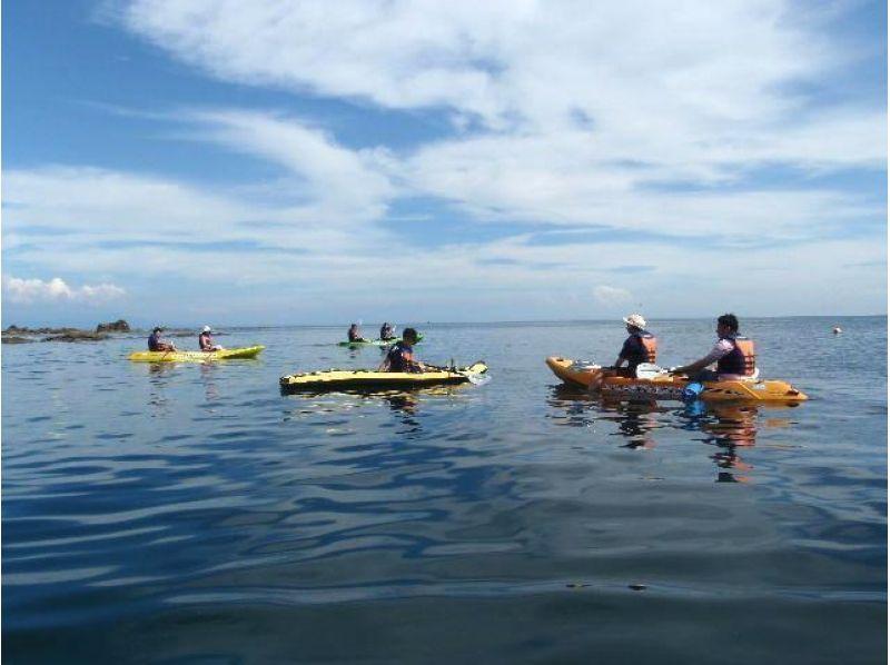 【秋田で自然体験】海辺であそぼう2016!シーカヤック体験教室(2時間コース)の紹介画像