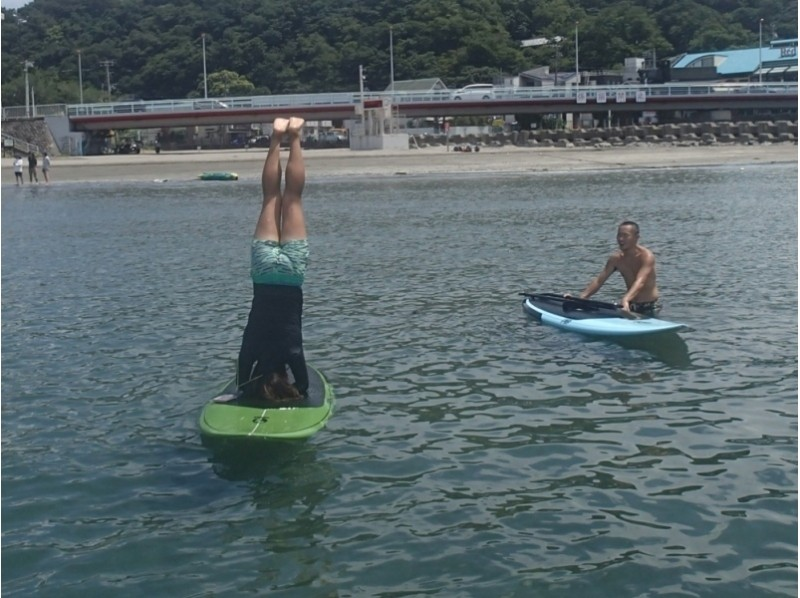 [Kanagawa Zushi Zushi] was featured in the media a number or does not SUP on the coast of the school! ? (Person of experience) of introduction image