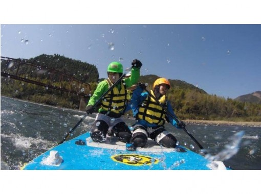 [Kumamoto Kuma River] can be in the torrent is only here! Monster SUP experience! [Extra large SUP (Course afternoon)の紹介画像