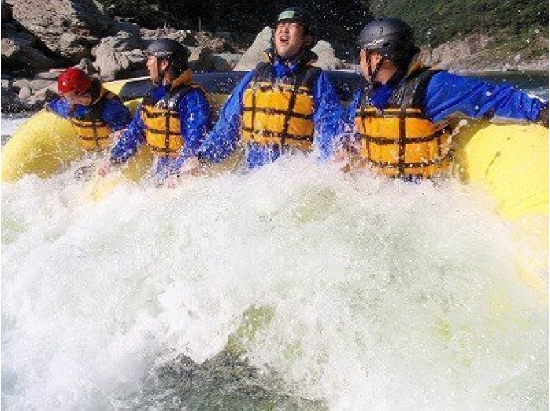 [Kyoto Hozu natural roller coaster nature make! Rafting tour introduction image of (afternoon 14:00 course)