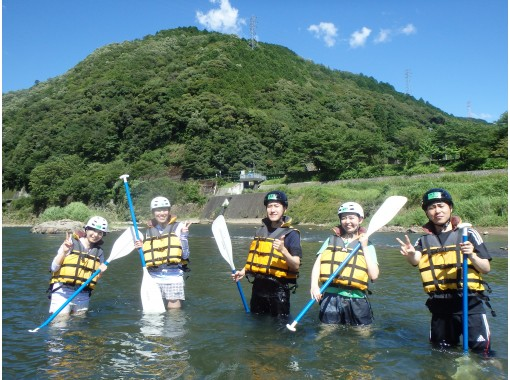 [Kyoto Hozu natural roller coaster nature make! Rafting tour (afternoon 14:00 course)の紹介画像
