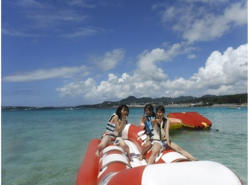 [北部和偏遠島嶼] Minnajima令人興奮的小船浮潛和燒烤課程(有2種海洋生物)の紹介画像
