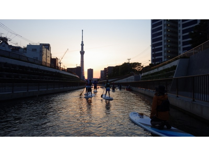 [Tokyo's 23 wards] Sky Tree Night sup introduction image