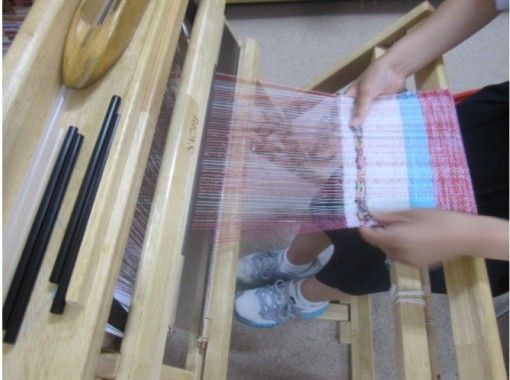 【東京・千駄ヶ谷】感性のままに好きに好きに織ってみよう!初心者でもかんたんで自由な手織り体験