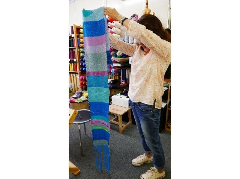 【千葉・船橋】のびのびと製作を楽しむ!手織りのストール・テーブルセンターを作ろうの紹介画像