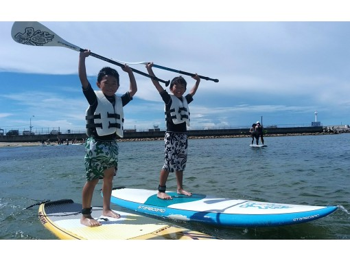 【大阪・関空前】施設完備!話題のサザンビーチにて大人気のSUPを体験!90分・写真・動画サービス