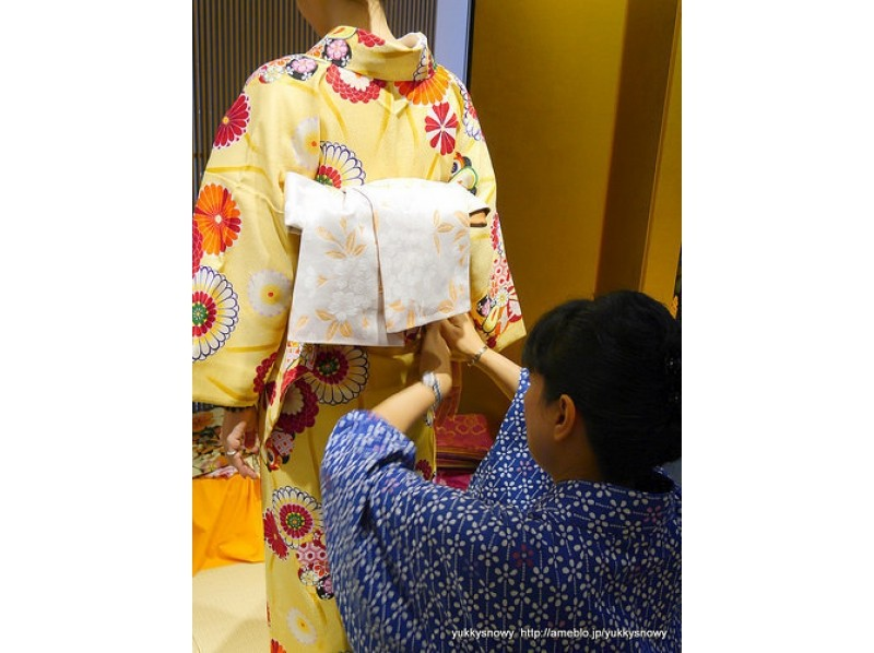 [Tokyo Ginza] experience a tea ceremony in the kimono, can you walk further Ginza! Kimono and tea ceremony experience plan of introduction image