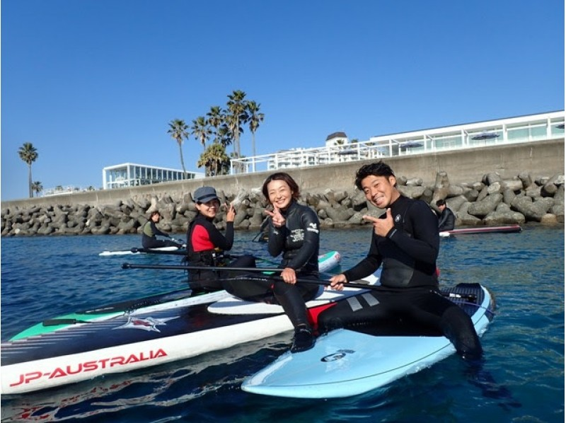 【Shonan · Zushi】 Do not you experience breakfast SUP at the Zushi coast school covered by many media? Introduction image of