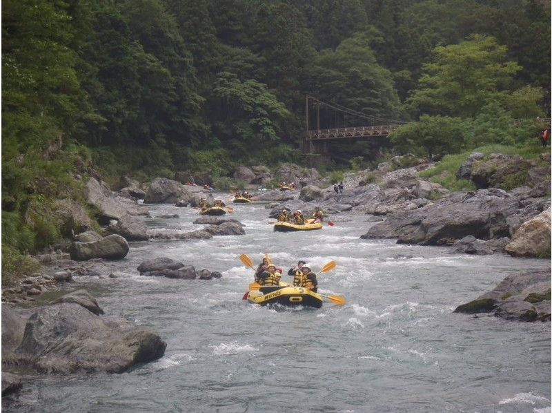 Tamagawa Rafting winds