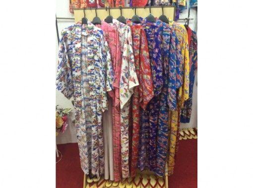 【沖縄・着物レンタル】涼しげな浴衣で沖縄満喫! ゆかたコース