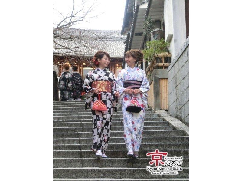 【大阪・着物レンタル】着付け込みでこの価格! 大人気の京あるきコースの紹介画像