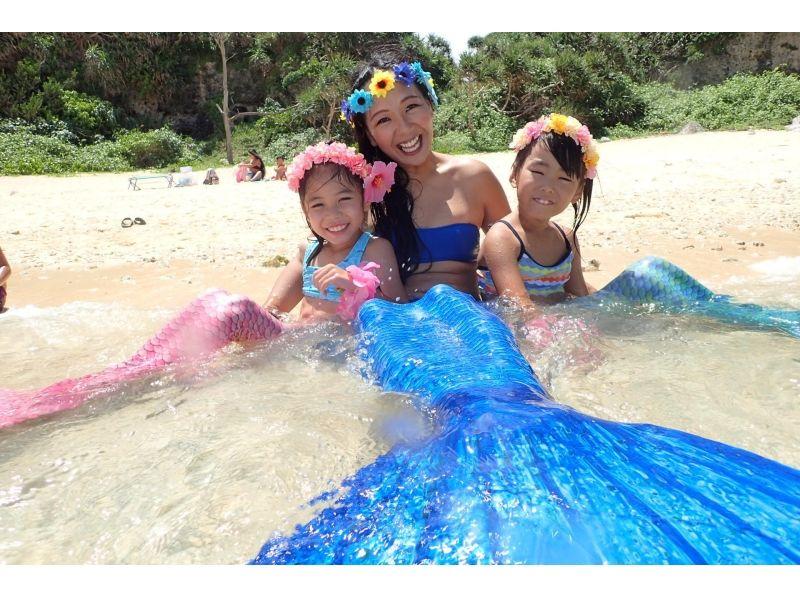 【沖縄・恩納村】2歳から参加OK!人魚になれる夢が叶っちゃう!海外で人気のマーメイドスイムの紹介画像