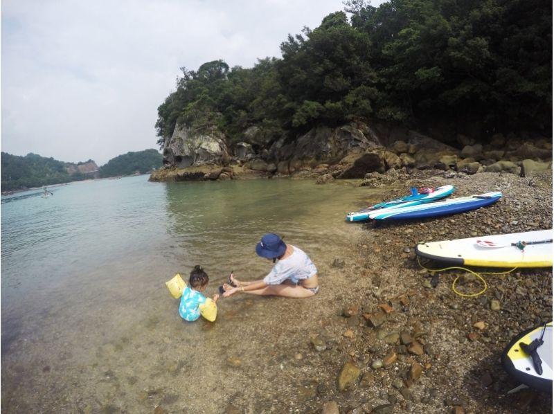 【徳島・SUP体験】四国の美しい海の上をのんびりお散歩! SUPクルージングの紹介画像