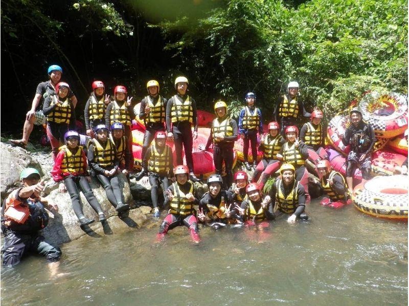 [Yamanashi Katsura River, 40 minutes from Lake Kawaguchi] torrent tubing tour (PM course) single occupancy 7500 yen / Introduction to image