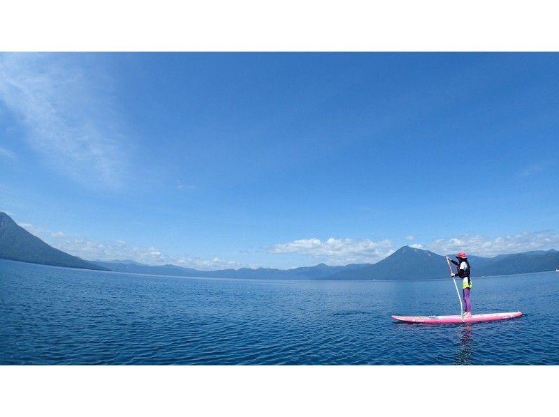 【北海道・SUP体験】SUP体験とランチ&スパを1日たっぷり満喫!SUP体験プラン(1日コース)の紹介画像