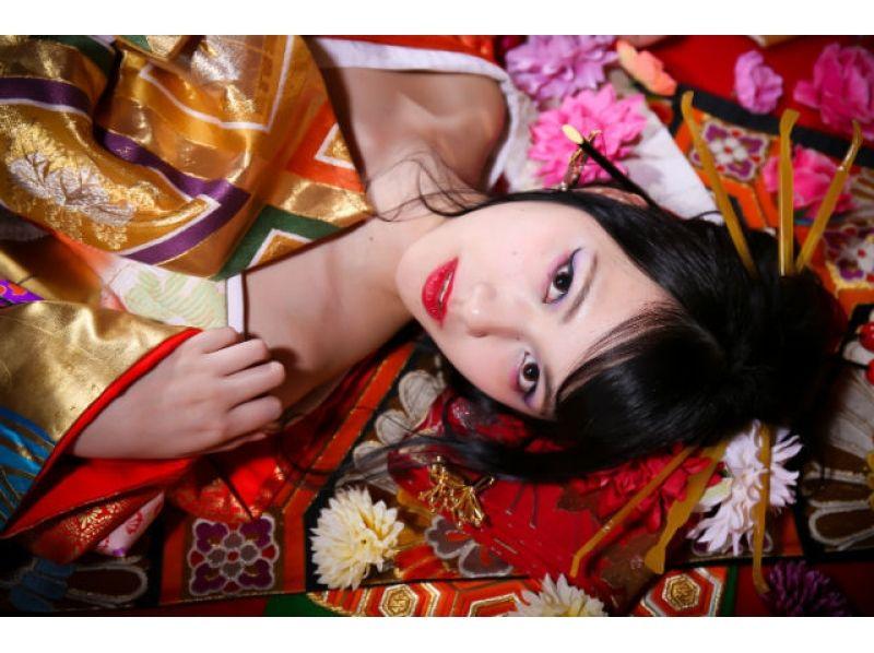 [Osaka Shinsaibashi] courtesan experience Peony (peony) course ★ photo gift There ★ Introducing image