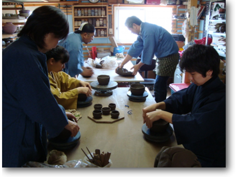【北海道・陶芸体験】まずは基礎を学んでから!手びねり体験プランの紹介画像