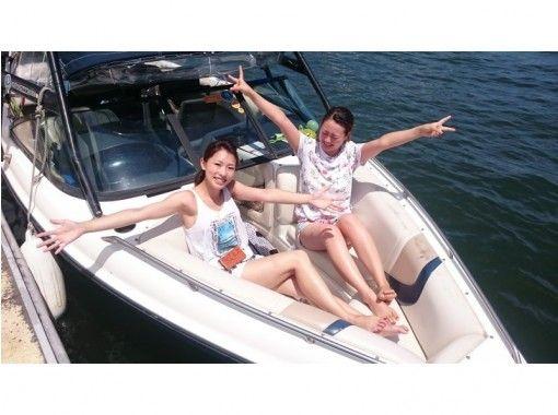 【滋賀・琵琶湖・ウェイクボード】初心者向け♪10分×2セットコース♪どうせやるなら絶対に立とう!