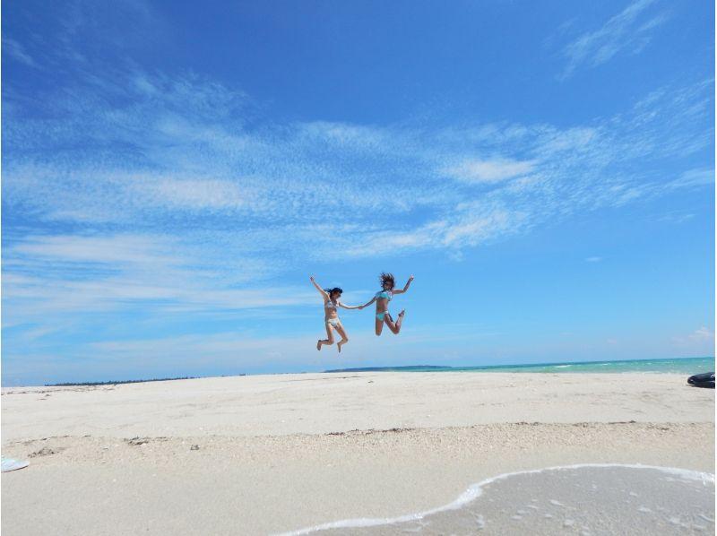 【沖縄・宮古島】幻の砂浜上陸ツアー(30分コース)の紹介画像