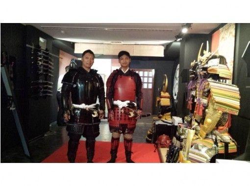 """[东京/涩谷]装甲体验让您在市中心享受""""武士""""的感觉!有照片服务!の紹介画像"""