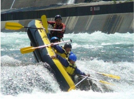 【富山・黒部川】富山7大河川を下る!黒部川ラフティング(半日コース)の紹介画像