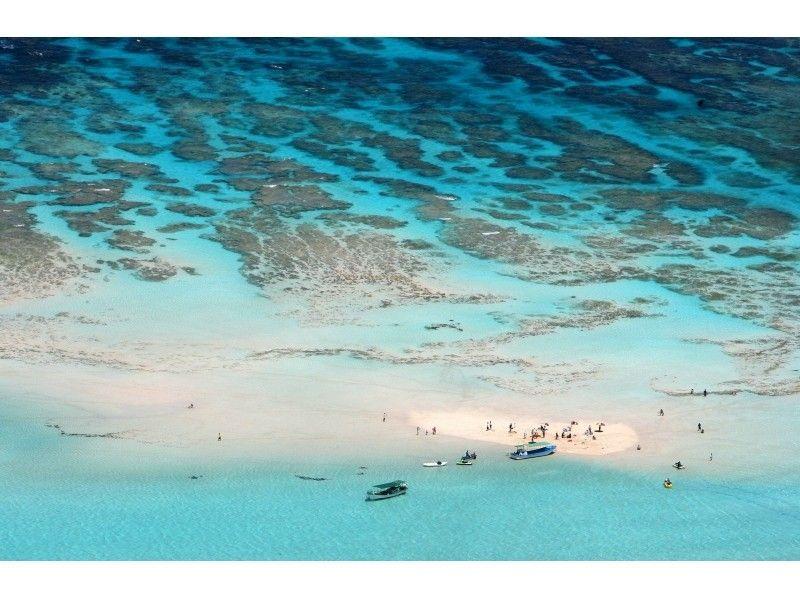 【鹿児島・与論島】神秘の砂浜、百合ヶ浜へのクルージング!の紹介画像